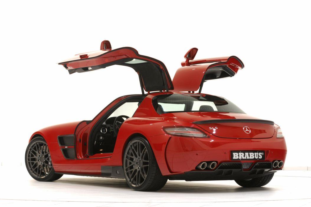 2010 BRABUS Mercedes Benz SLS WIDESTAR supercar supercars   g wallpaper