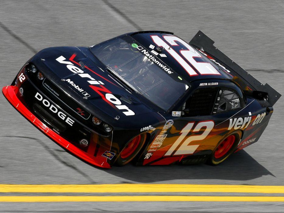 2010 Dodge Challenger R-T NASCAR Nationwide race racing    h wallpaper