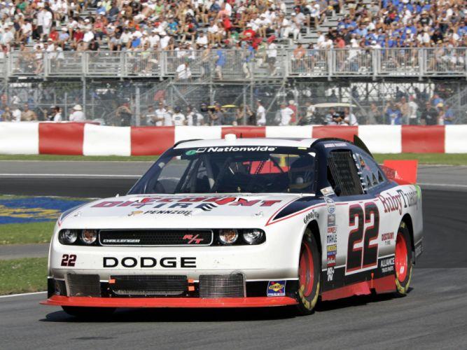 2010 Dodge Challenger R-T NASCAR Nationwide race racing g wallpaper