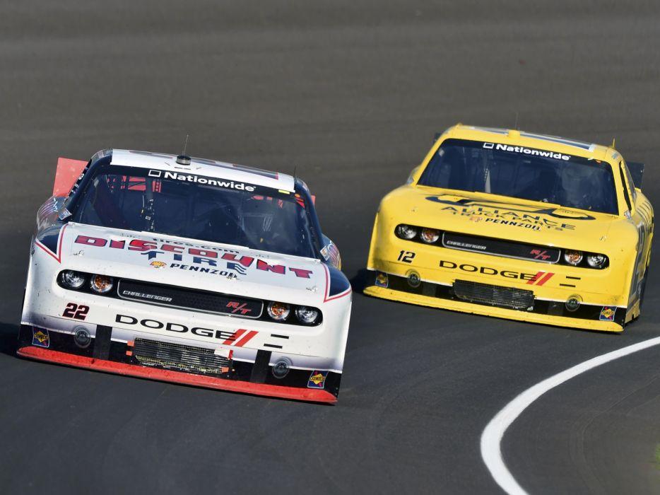 2010 Dodge Challenger R-T NASCAR Nationwide race racing q wallpaper