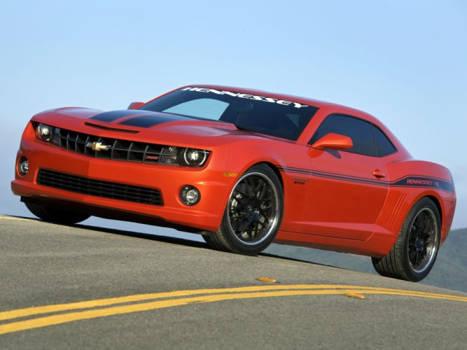 2010 HPE550 Hennessey Chevrolet Camaro muscle f wallpaper