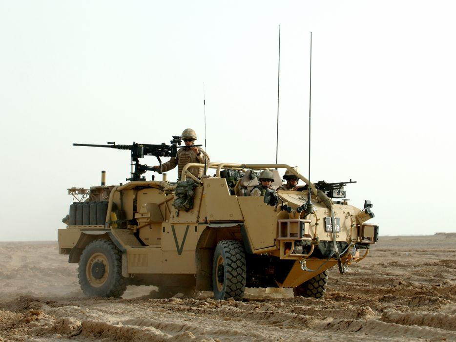 2010 Jackal 4x4 Patrol Vehicle military weapon weapons wallpaper