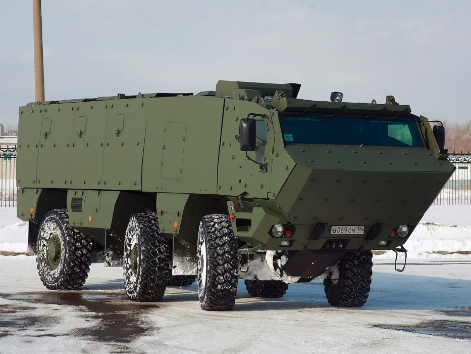 2010 KamAZ 63698 Typhoon 6x6 military  d wallpaper