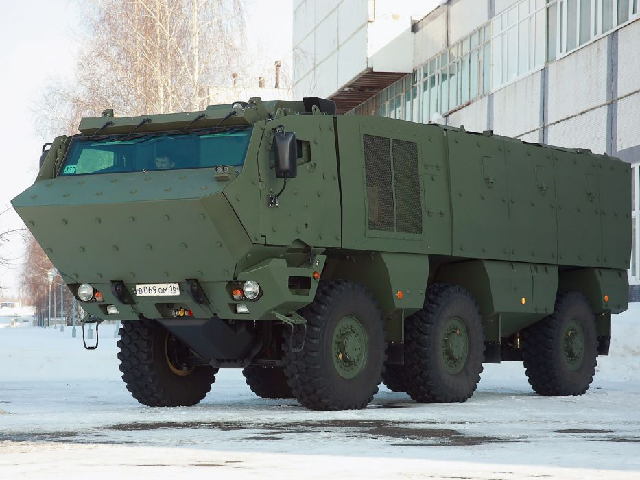 2010 KamAZ 63698 Typhoon 6x6 military wallpaper