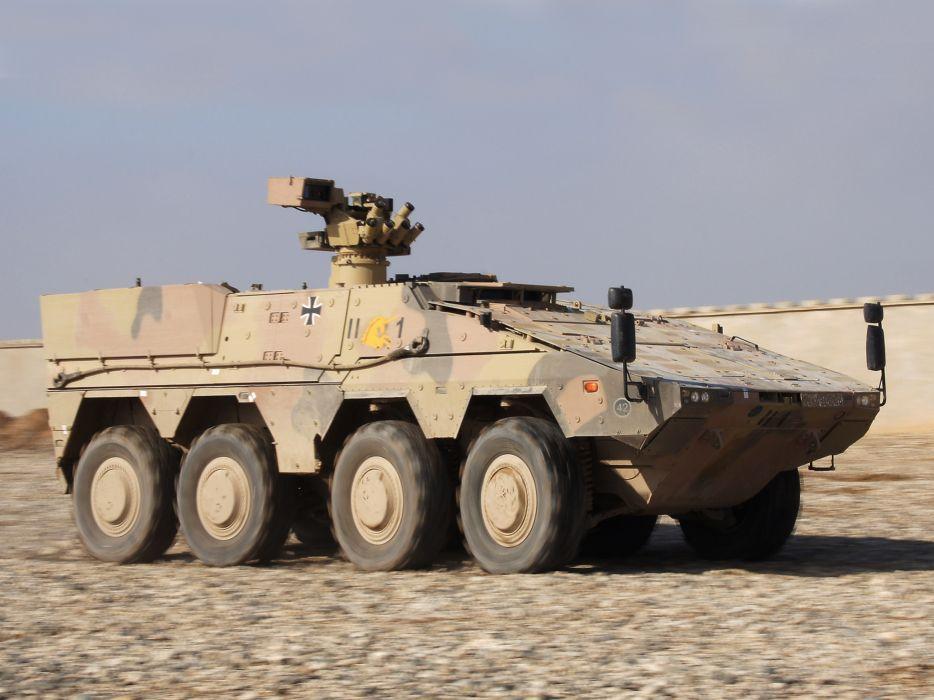 2010 KMW Boxer 8x8 APC weapon weapons military  g wallpaper