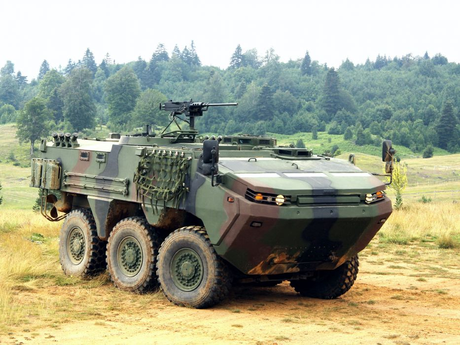 2010 Otokar Arma 6x6 military weapon weapons wallpaper