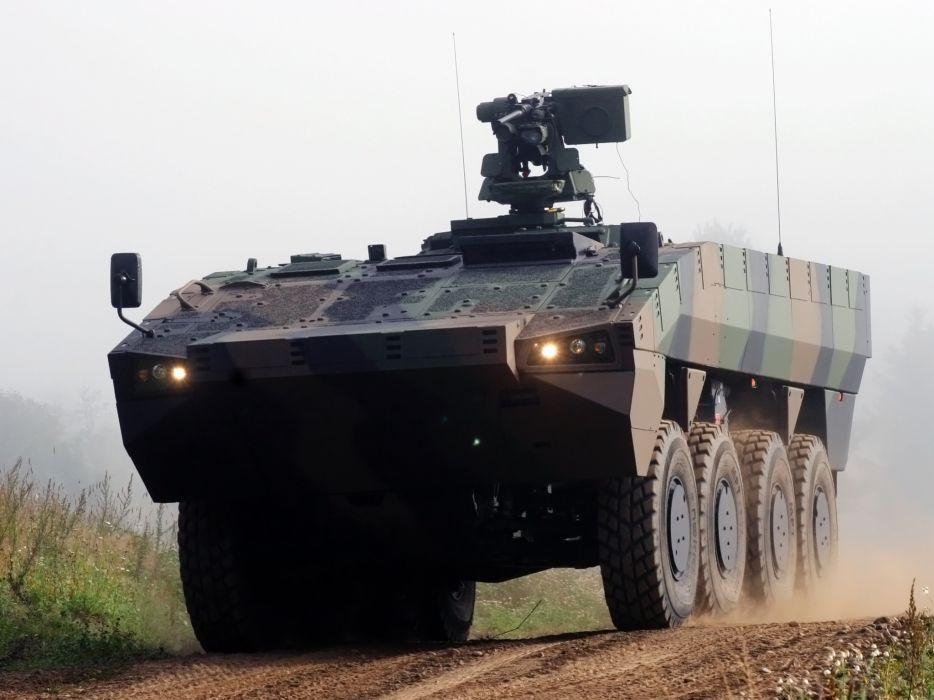 2010 Patria AMV 8x8 Kongsberg Protector military weapon weapons apc wallpaper