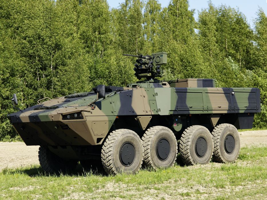2010 Patria AMV 8x8 Kongsberg Protector military weapon weapons apc q wallpaper