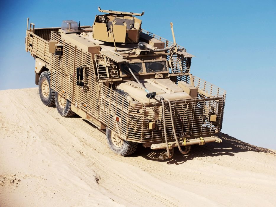 2010 Wolfhound PSV 6x6 military t wallpaper