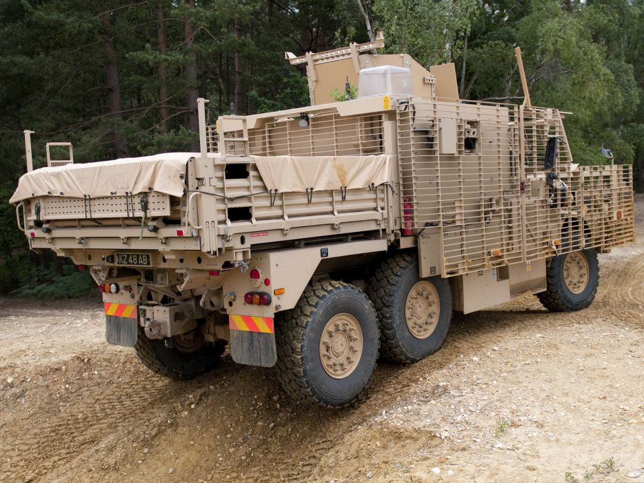 2010 Wolfhound PSV 6x6 military w wallpaper