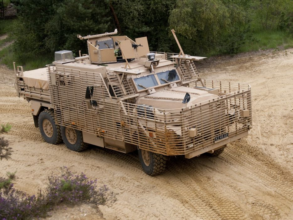 2010 Wolfhound PSV 6x6 military wallpaper