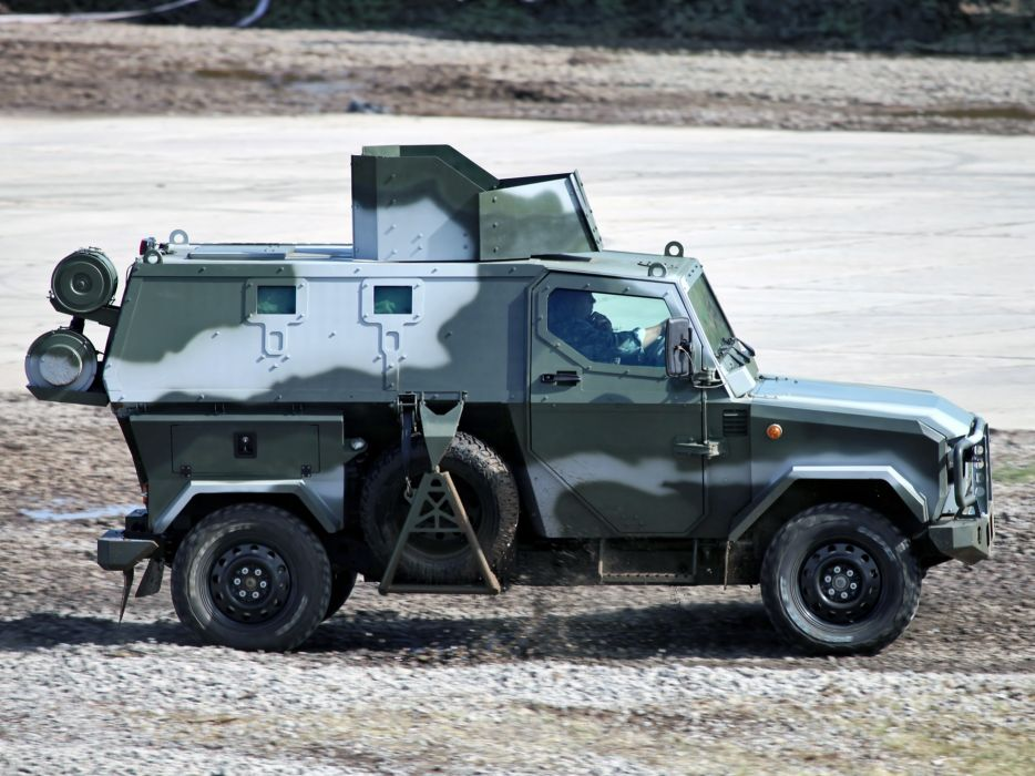 2010 Zashchita Scorpion LSHA-B military truck trucks 4x4 q wallpaper
