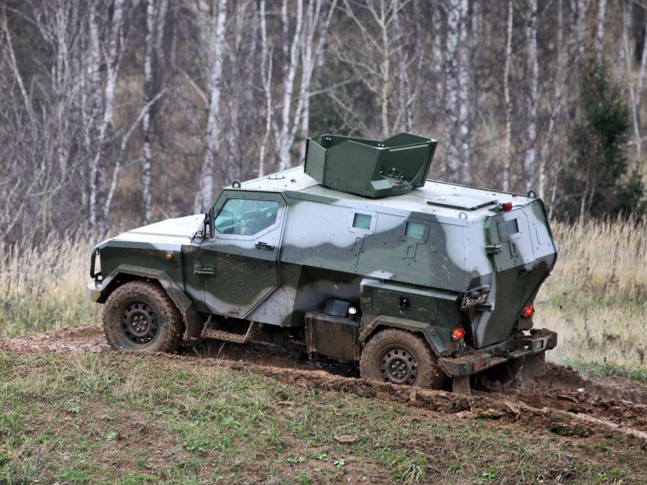 2010 Zashchita Scorpion LSHA-B military truck trucks 4x4    f wallpaper