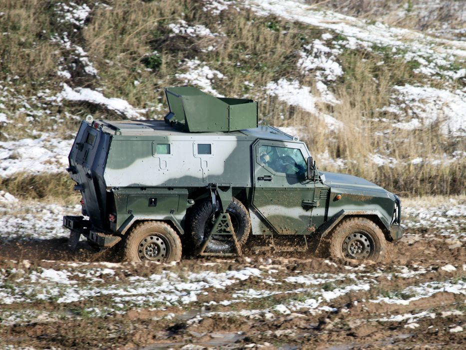 2010 Zashchita Scorpion LSHA-B military truck trucks 4x4 wallpaper