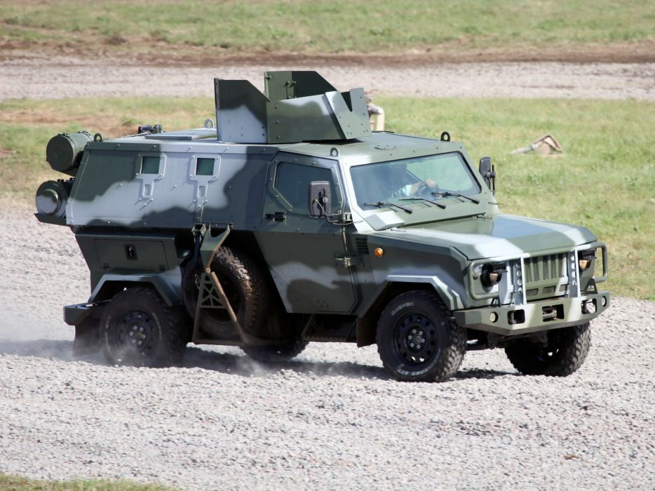 2010 Zashchita Scorpion LSHA-B military truck trucks q wallpaper