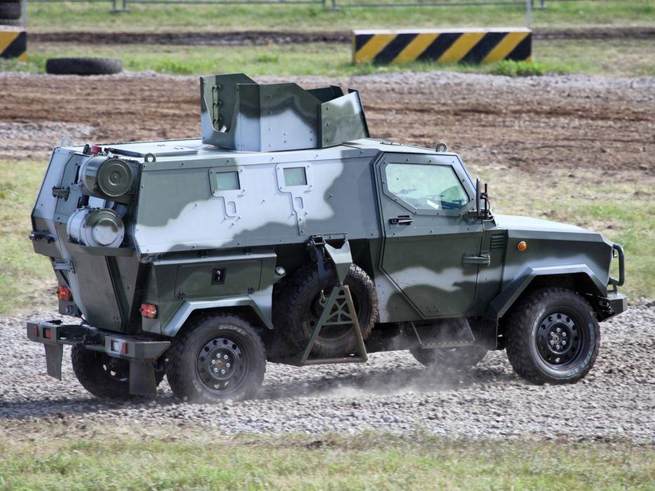 2010 Zashchita Scorpion LSHA-B military truck trucks wallpaper