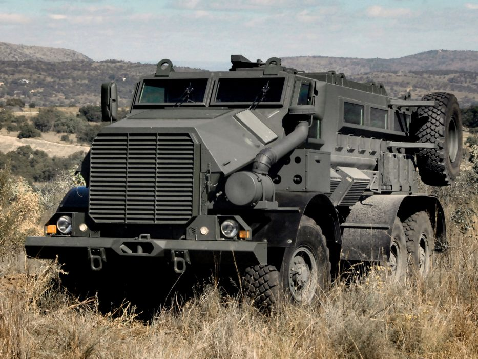 2011 BAE Casspir Mk6 6x6 military q wallpaper