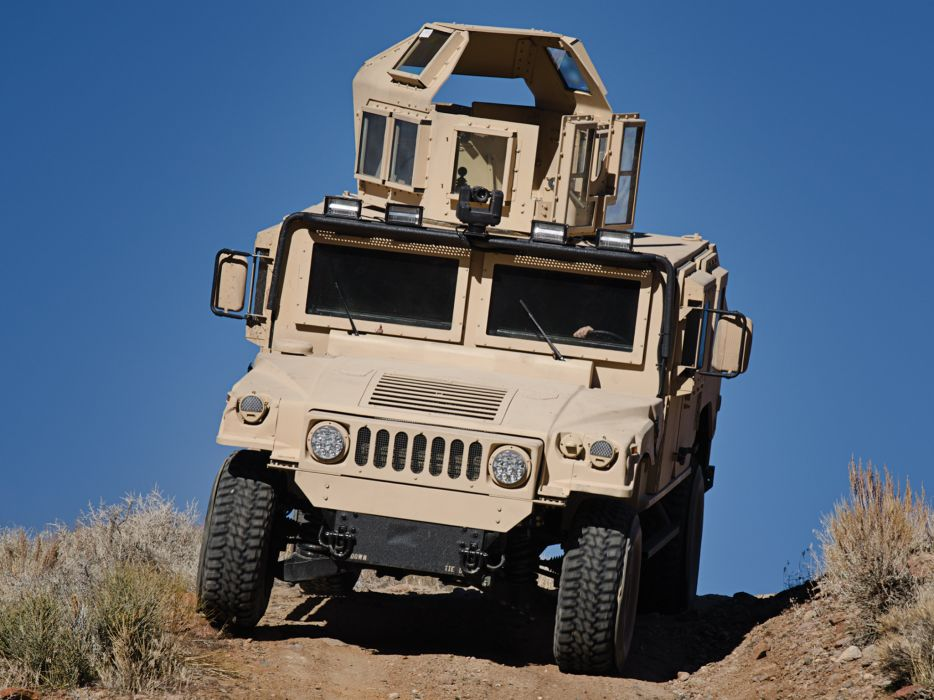 2011 BAE HMMWV Integrated SMART-V M1151 4x4 hummer military    g wallpaper