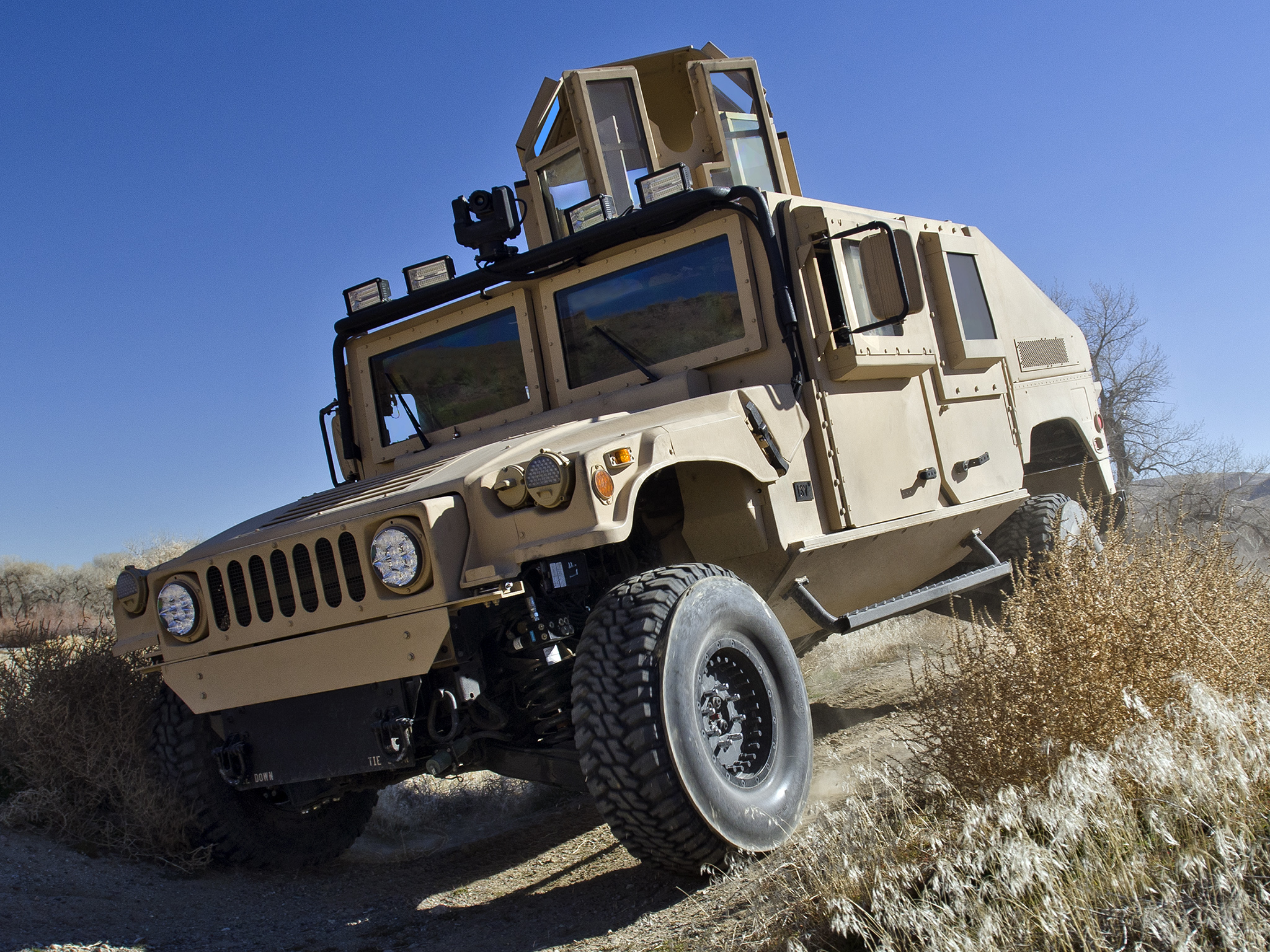 2011 BAE HMMWV Integrated SMART-V M1151 4x4 hummer military q