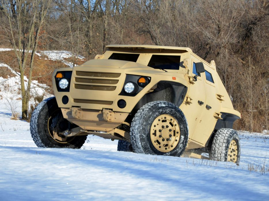 2011 FED Alpha Prototype 4x4 military wallpaper