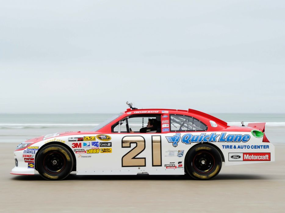 2011 Ford Fusion NASCAR Sprint Cup race racing  d wallpaper