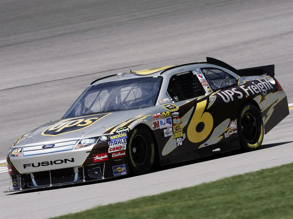 2011 Ford Fusion NASCAR Sprint Cup race racing v wallpaper