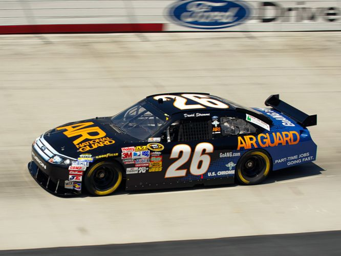 2011 Ford Fusion NASCAR Sprint Cup race racing w wallpaper