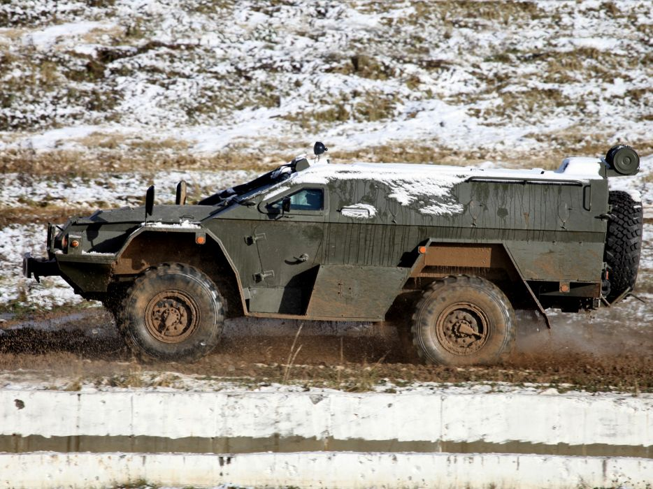 2011 KamAZ 43269 BMP-97 4x4 military    h wallpaper