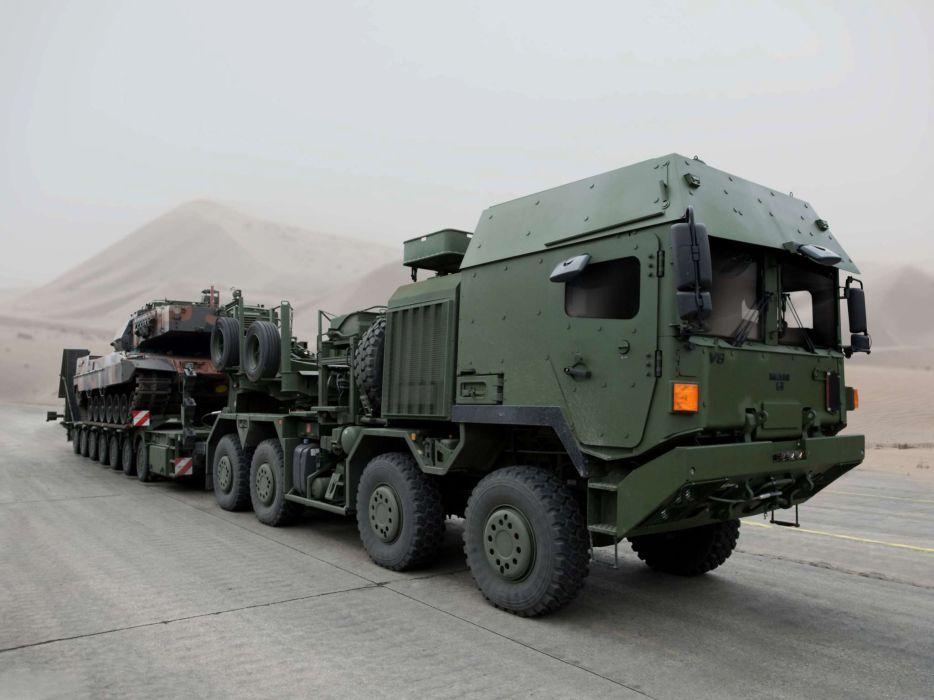 2011 MAN HX-81 RMMV 8x8 Tractor truck trucks semi military tank tanks weapon weapons  f wallpaper