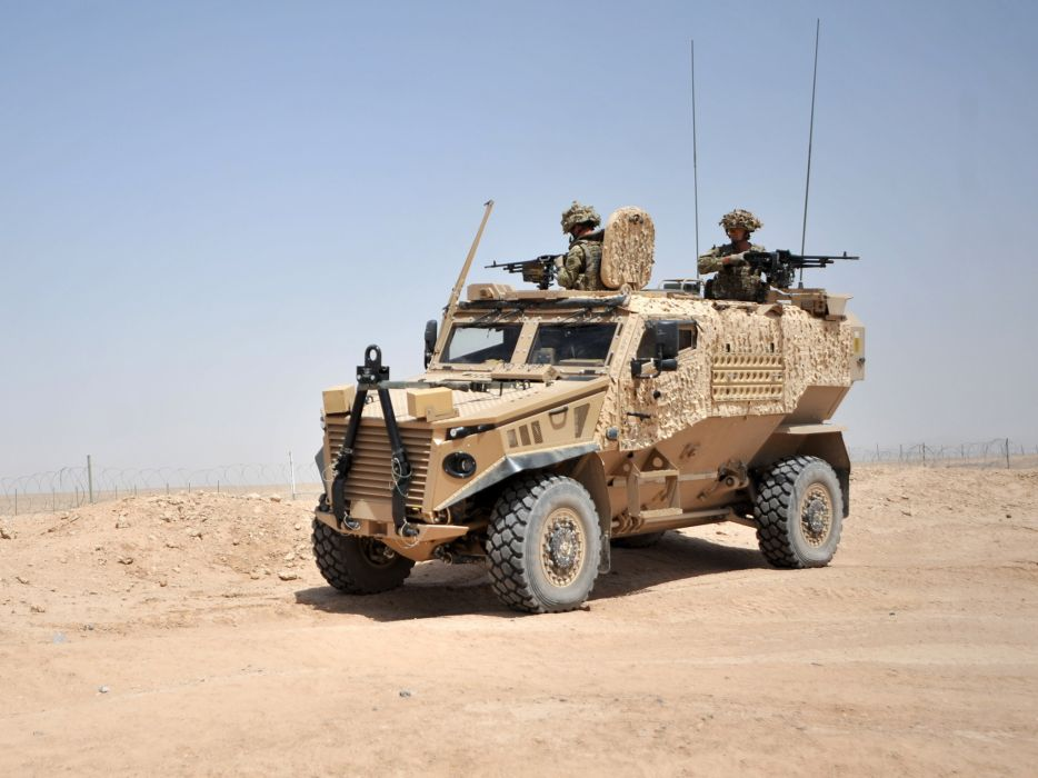2011 Ocelot LPPV 4x4 military weapon weapons f wallpaper