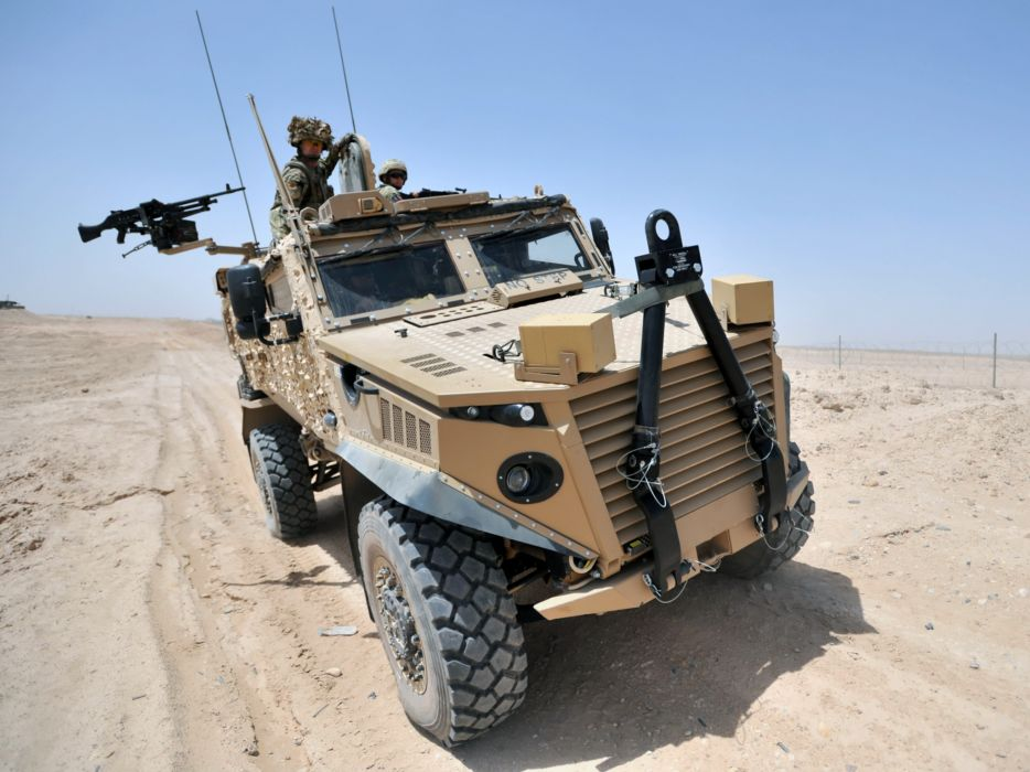 2011 Ocelot LPPV 4x4 military weapon weapons wallpaper
