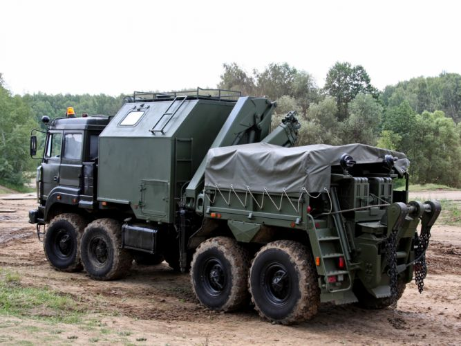2011 SEM-CL chassis Ural 532362 military 8x8 wallpaper
