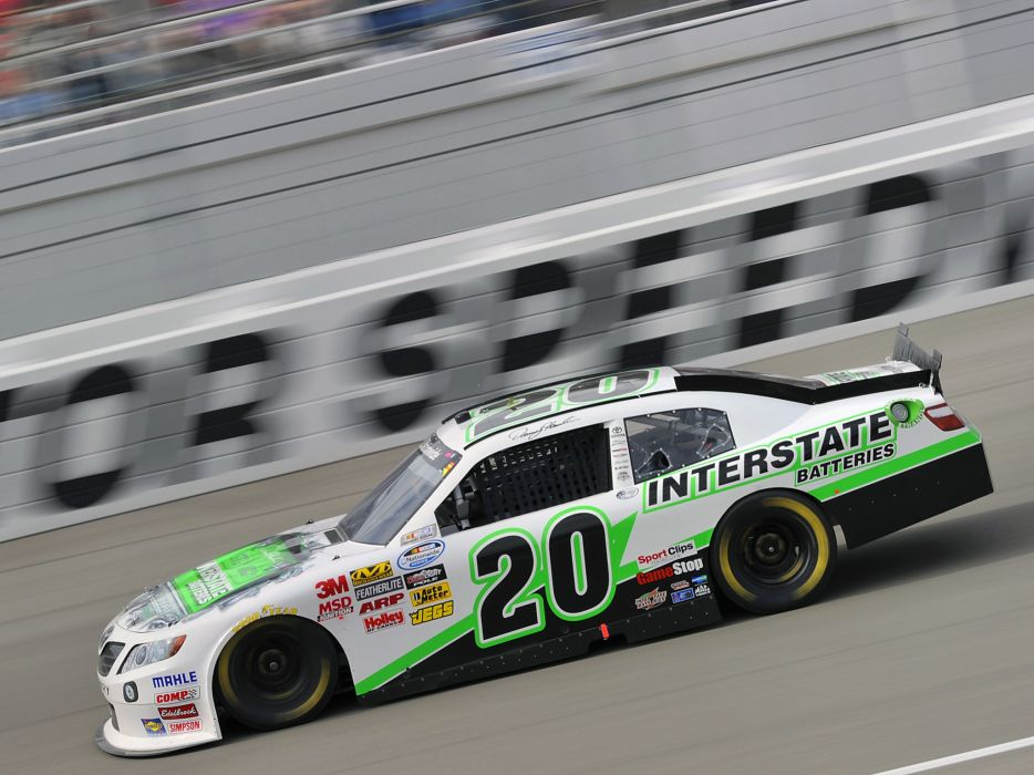 2011 Toyota Camry NASCAR Nationwide race racing wallpaper