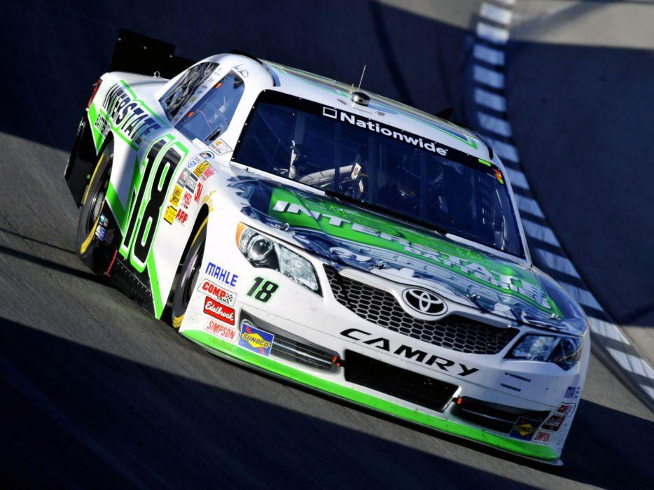 2011 Toyota Camry NASCAR Nationwide Series race racing wallpaper