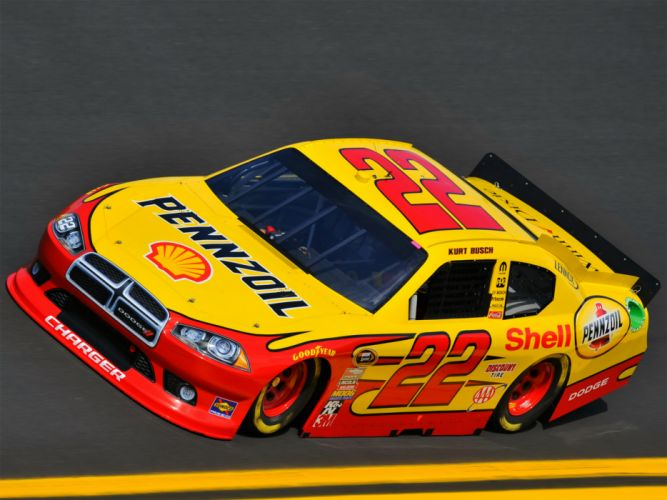 2012 Dodge Charger NASCAR Sprint Cup Series race racing q wallpaper