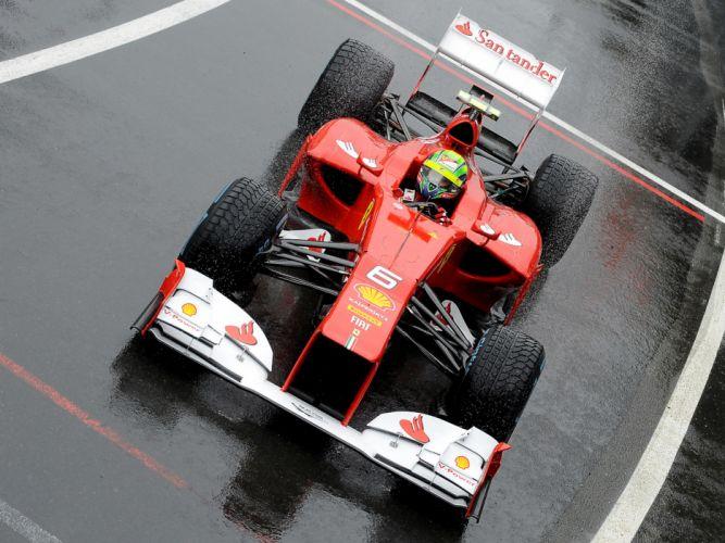 2012 Ferrari F2012 formula one race racing wallpaper