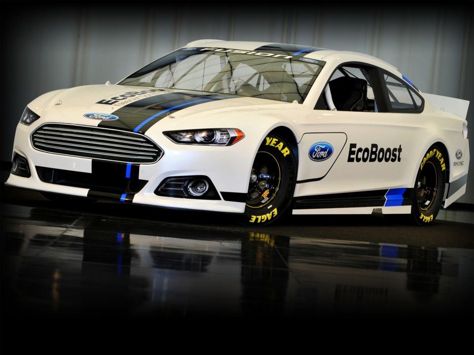 2012 Ford Fusion NASCAR Sprint Cup race racing  d wallpaper