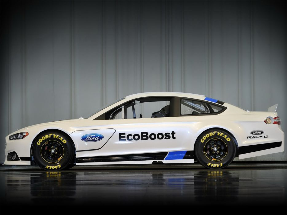 2012 Ford Fusion NASCAR Sprint Cup race racing a wallpaper