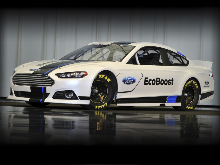 2012 Ford Fusion NASCAR Sprint Cup race racing q wallpaper