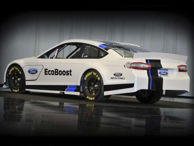 2012 Ford Fusion NASCAR Sprint Cup race racing w wallpaper