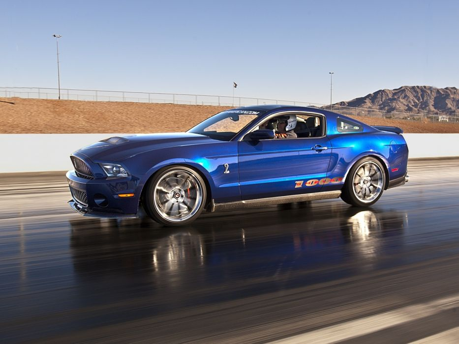 2012 Ford Mustang Shelby 1000 muscle supercar supercars drag racing race wallpaper
