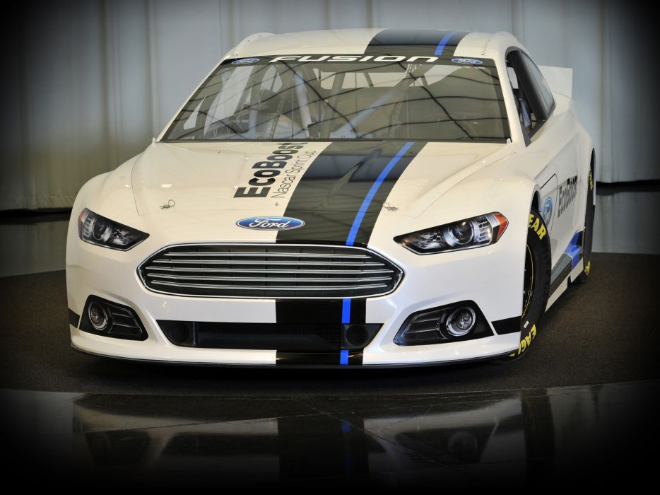 2012 Ford Fusion NASCAR Sprint Cup race racing wallpaper