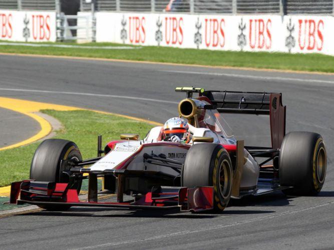 2012 HRT F112 formula one race racing g wallpaper