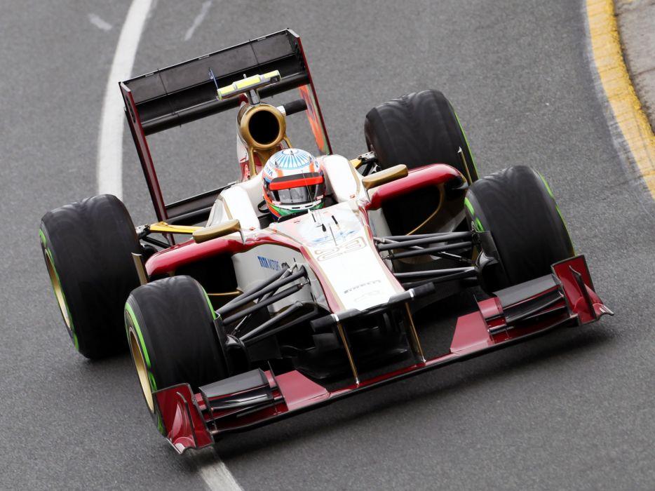2012 HRT F112 formula one race racing t wallpaper