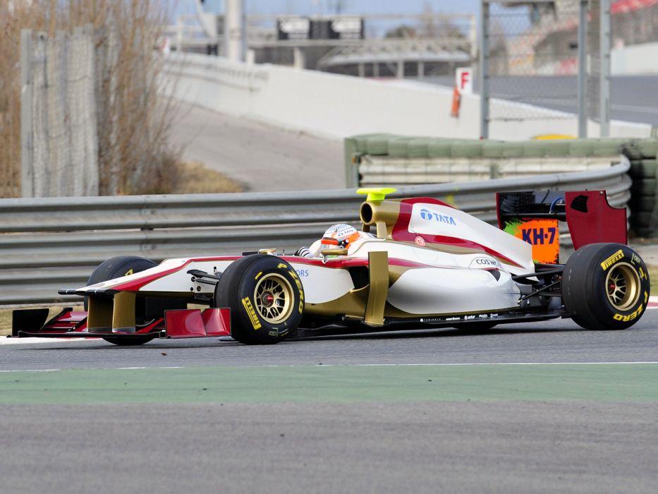 2012 HRT F112 formula one race racing w wallpaper