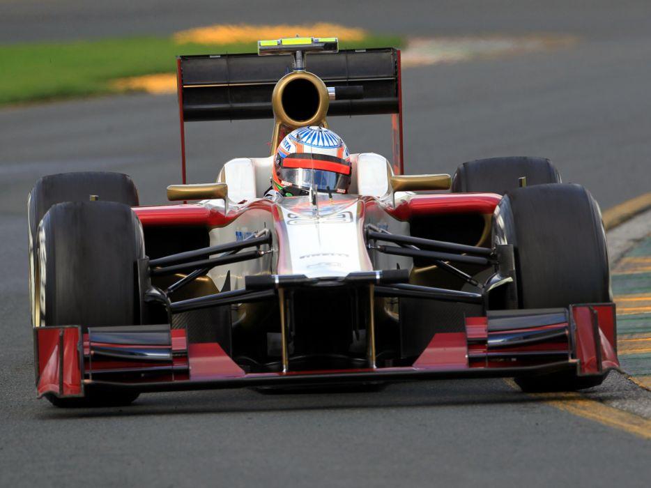 2012 HRT F112 formula one race racing wallpaper