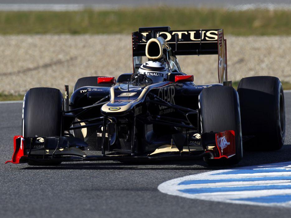 2012 Lotus E20 formula one race racing   g wallpaper