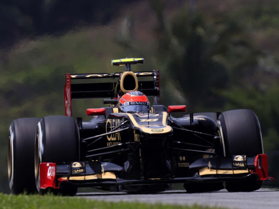2012 Lotus E20 formula one race racing q wallpaper