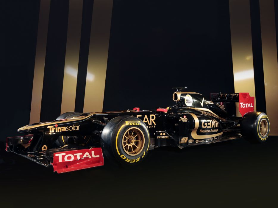 2012 Lotus E20 formula one race racing wallpaper