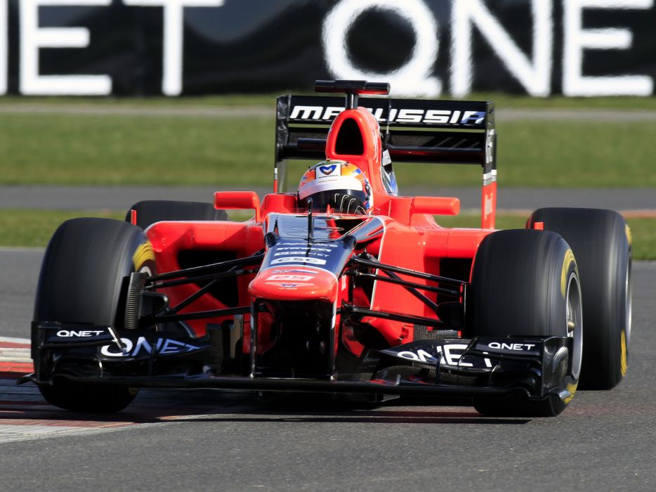 2012 Marussia MR01 formula one race racing wallpaper